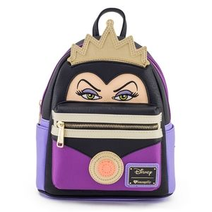 NWT Loungefly Disney Evil Queen mini Backpack